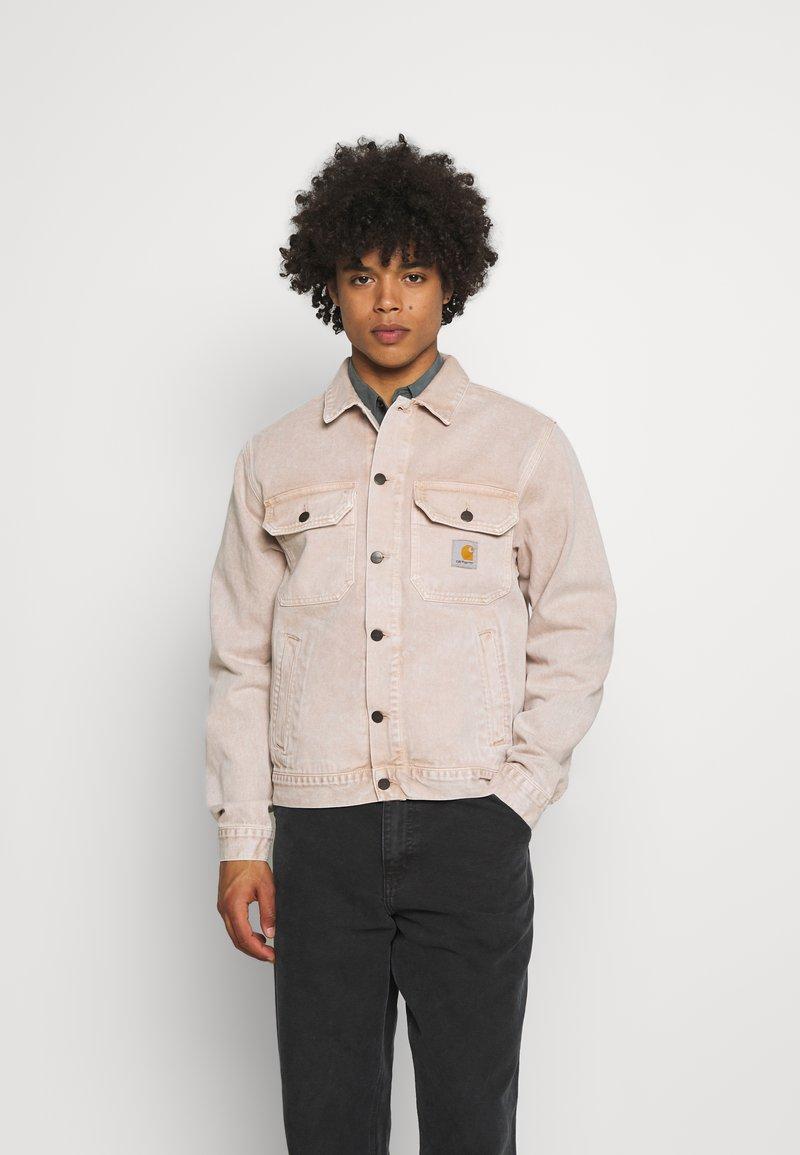 Carhartt WIP - STETSON JACKET PARKLAND - Džínová bunda - dusty brown