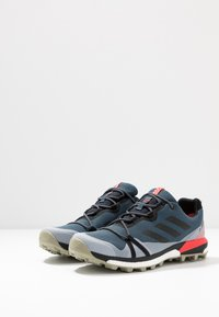 adidas Performance - TERREX SKYCHASER LT GORE-TEX - Trail running shoes - legend blue/core black/shock red - 2