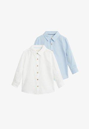 OXFORDP7-I - Button-down blouse - blanc cassé
