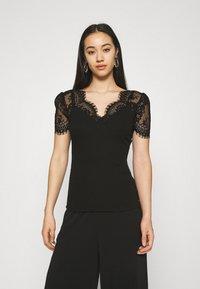 Morgan - DENATA - Print T-shirt - noir - 0