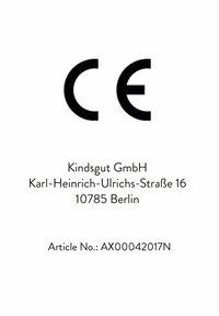 KINDSGUT - MUSSELIN HALSTÜCHER PUNKTE - Bib - PUNKTE - 5