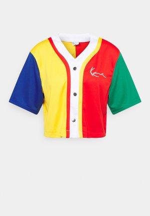 SMALL SIGNATURE BLOCK BASEBALL - T-shirt con stampa - multicolor