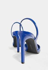 Bershka - High heels - metallic blue - 3