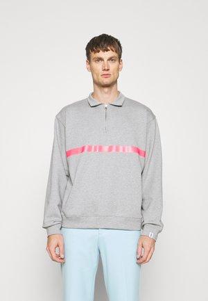 SEEM - Poloshirt - grey/pink