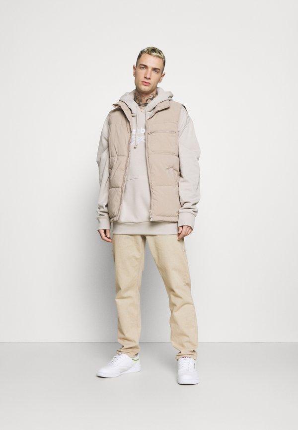 Reebok Classic VECTOR HOODIE - Bluza z kapturem - sand stone/piaskowy Odzież Męska UJOW