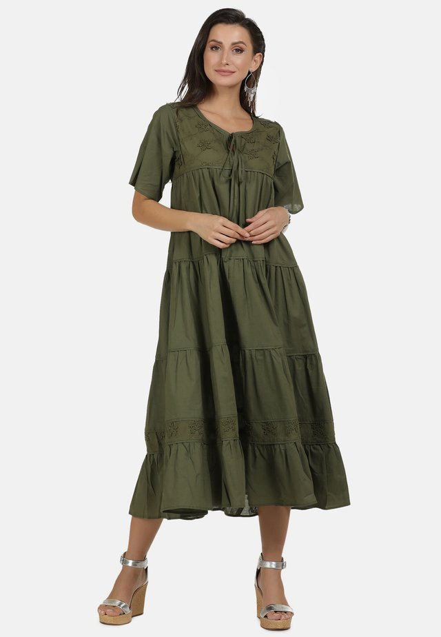 MAXIKLEID - Day dress - olive