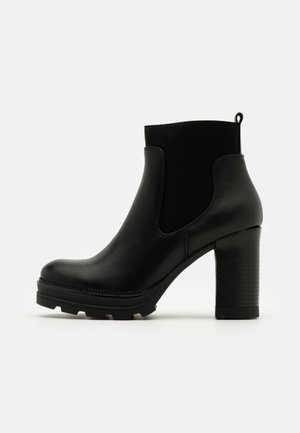 Bottines à plateau - black