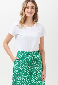 Sugarhill Brighton - ROSANNA PAINTERLY SPOT - A-line skirt - green - 2