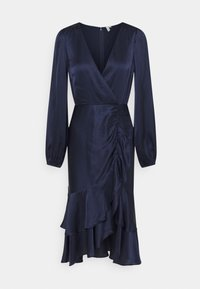 Nly by Nelly - EYES ON ME RUCHED DRESS - Cocktail dress / Party dress - navy - 6