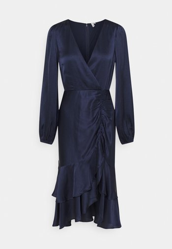 EYES ON ME RUCHED DRESS - Cocktail dress / Party dress - navy