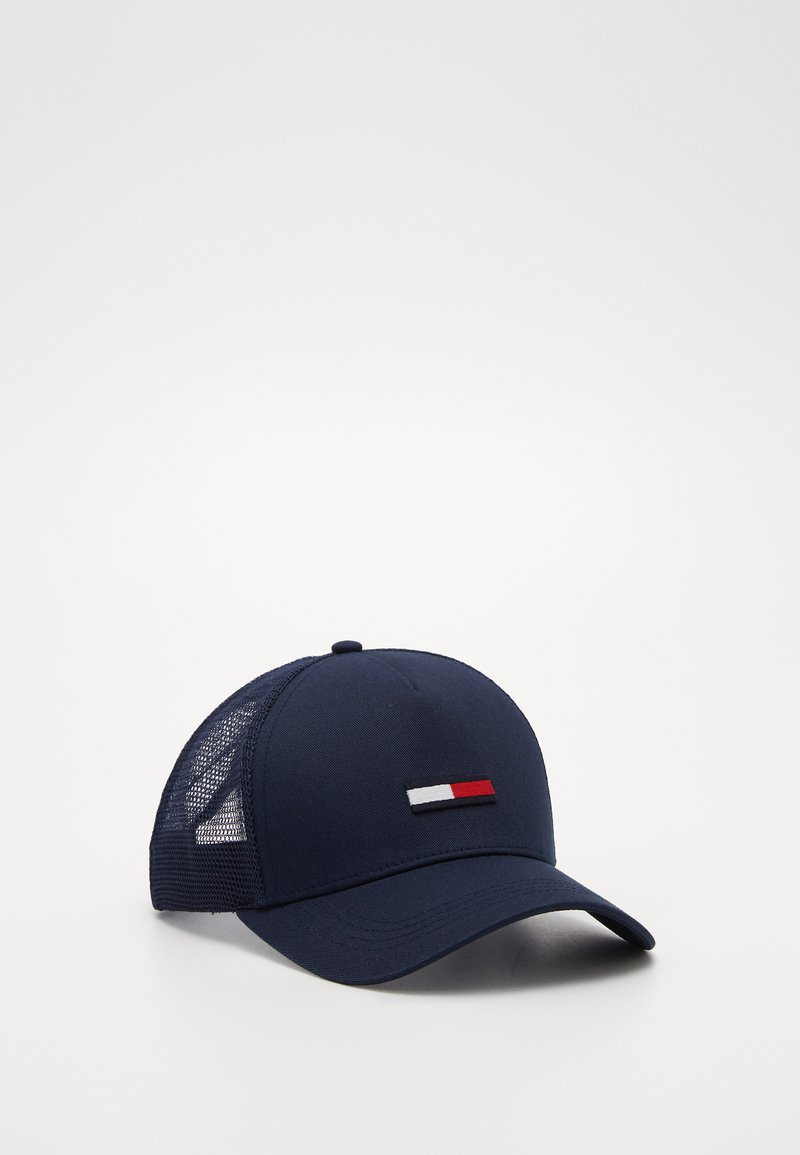 Tommy Jeans - TRUCKER FLAG  - Caps - blue