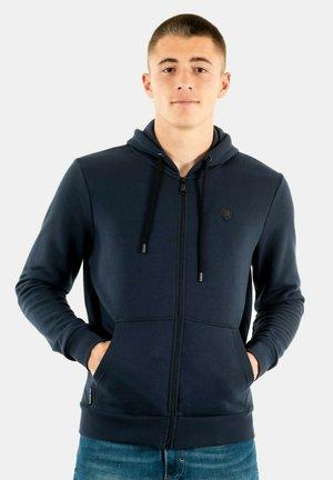 Sweater met rits - bleu
