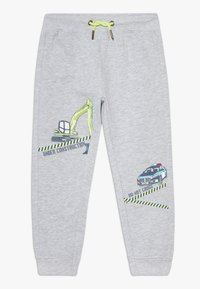 Blue Seven - KIDS POLICE CAR DIGGER - Tracksuit bottoms - nebel original - 0