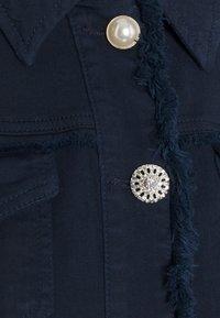 Liu Jo Jeans - GIUBBINO DRILL - Denim jacket - night - 2