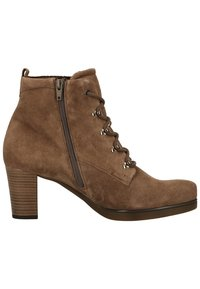Gabor - Lace-up ankle boots - mohair - 5