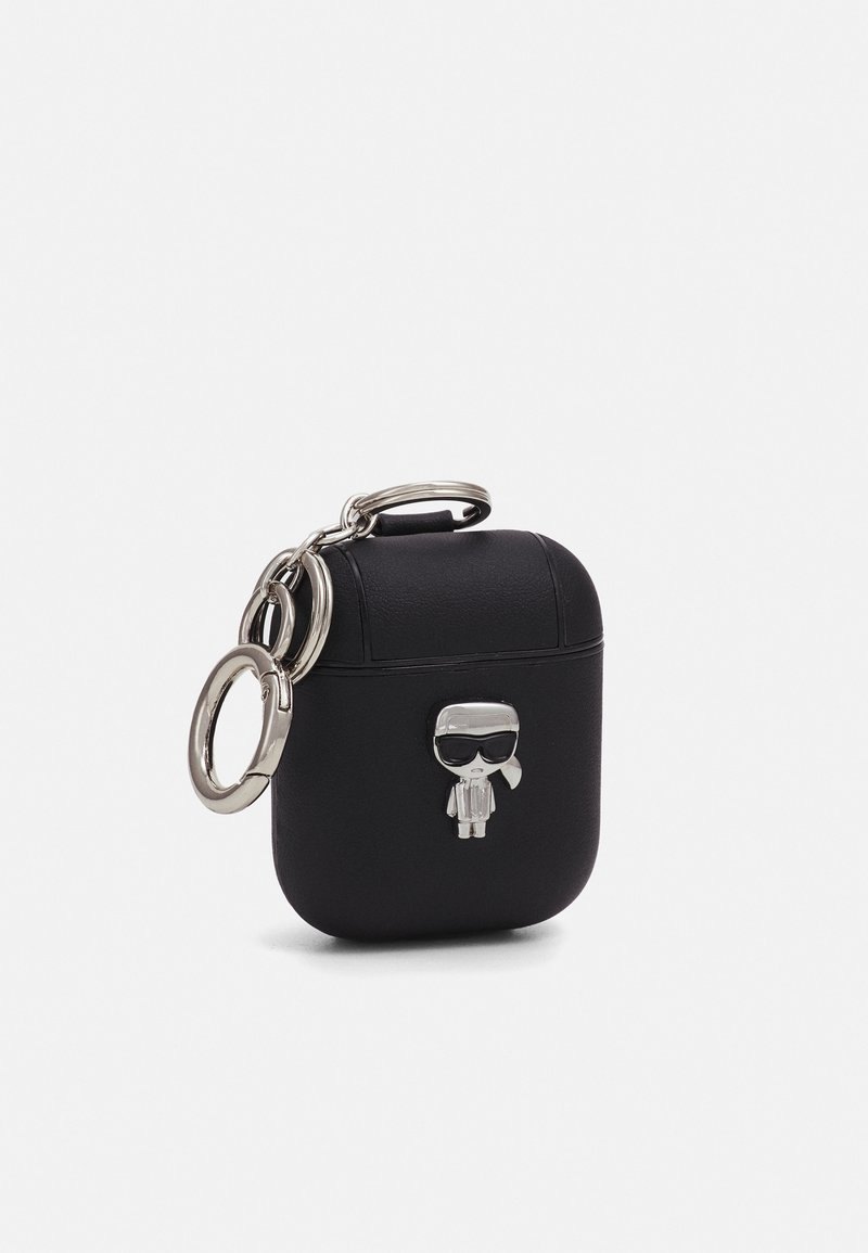KARL LAGERFELD - IKONIK AIRPOD CASE - Other accessories - black
