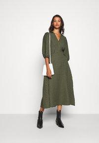 Minimum - ELMINA - Day dress - dark olive - 1
