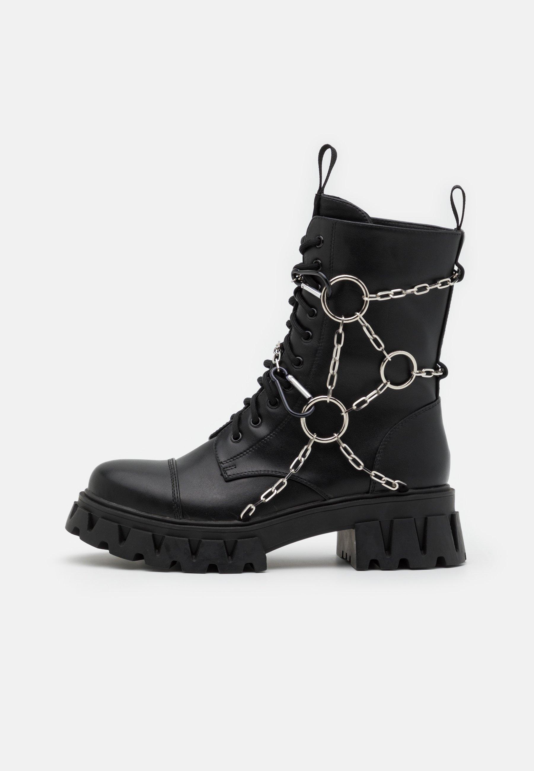 Men CYRUS - Lace-up ankle boots
