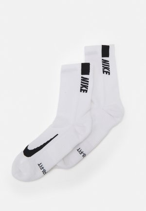 2 PACK UNISEX - Sportsocken - white/black