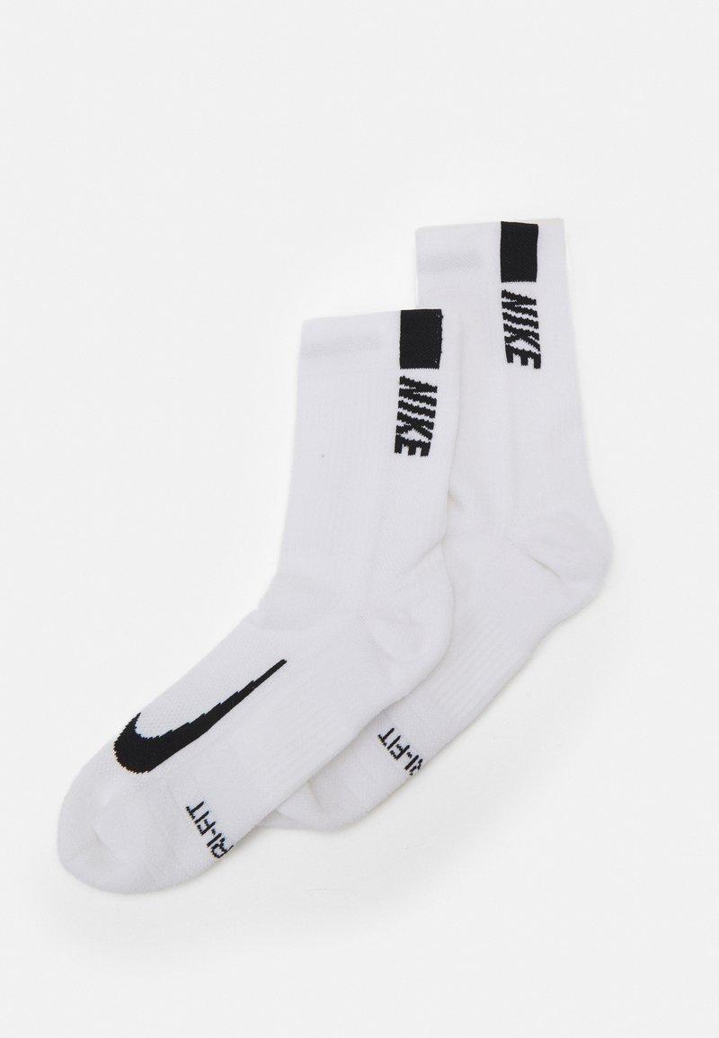 Nike Performance - 2 PACK UNISEX - Sportsstrømper - white/black