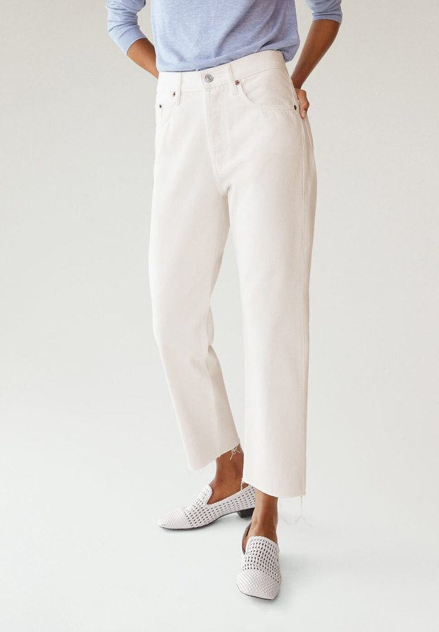 HAVANA - Straight leg jeans - blanc