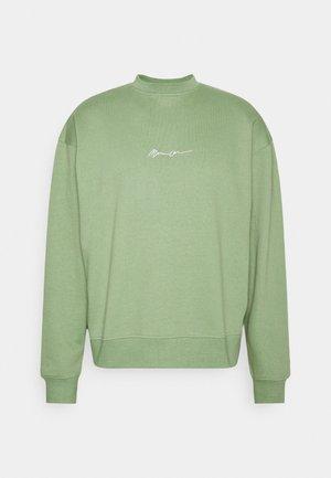 ESSENTIAL SIGNATURE BOXY UNISEX  - Sweatshirt - khaki
