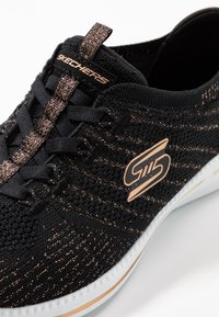 Skechers - CITY PRO - Zapatillas - black/rose gold/white - 2