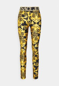 Versace Jeans Couture - LADY FUSEAUX - Leggings - Trousers - black - 5