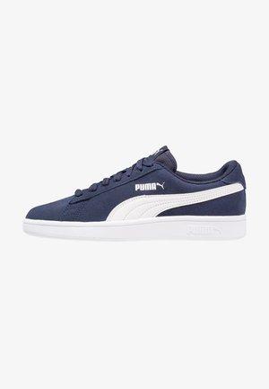 SMASH - Sneakersy niskie - peacoat/white