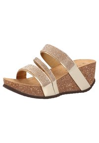 Scapa - Wedge sandals - platin - 1