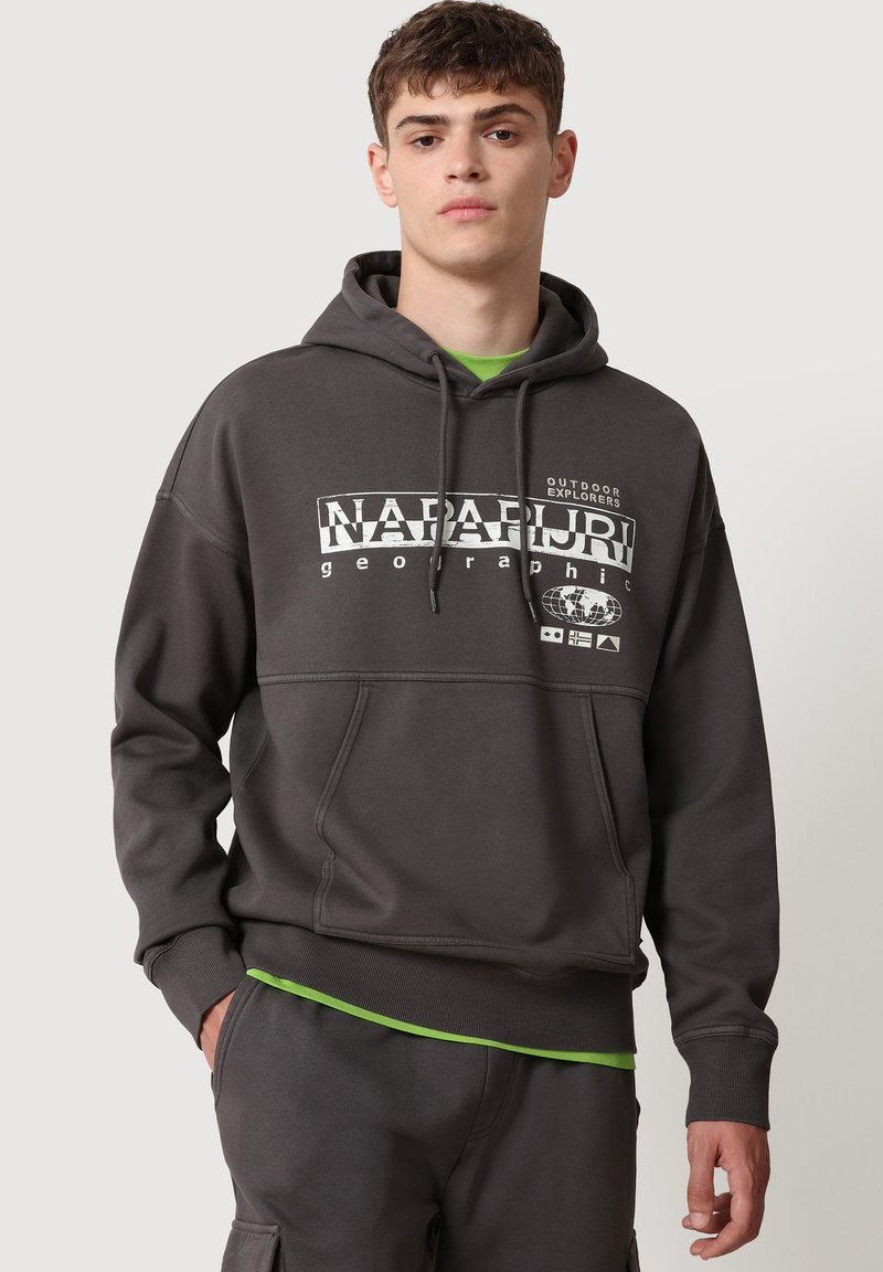 Napapijri - Hoodie - dark grey solid