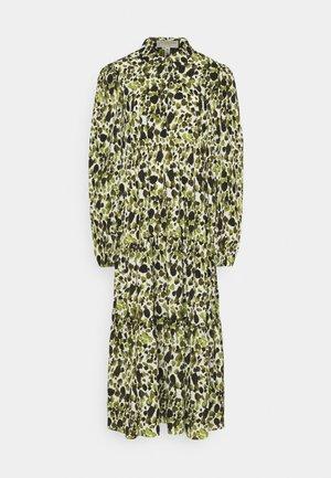 LEAF PANEL DRESS - Robe chemise - green