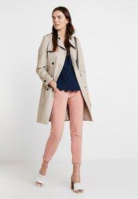 Esprit Collection - MATTSHINY - Blouse - navy - 1
