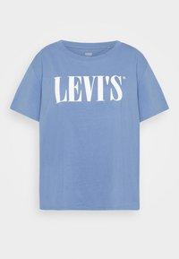 VARSITY TEE - Print T-shirt - blue