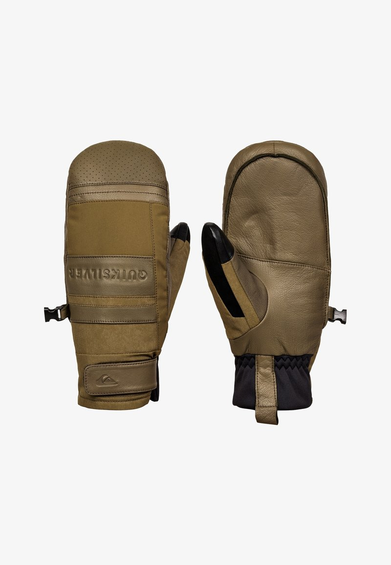Quiksilver - SQUAD  - Mittens - military olive