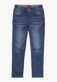 s.Oliver - HOSE - Jeans Slim Fit - blue denim - 0