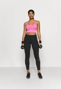 adidas Performance - AEROKNIT BRA - Light support sports bra - pink - 1