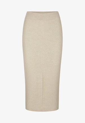 Pencil skirt - zementgrau