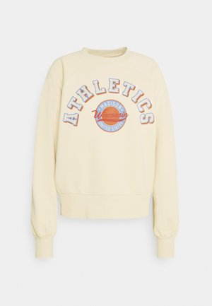 OLIVIA  - Sweatshirt - beige/light blue