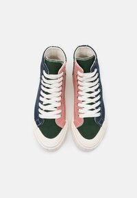 Good News - PALM UNISEX - Baskets montantes - navy/green/pink - 3