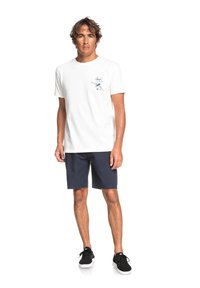 Quiksilver - T-shirt print - snow white - 1