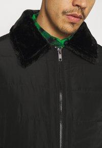 Brave Soul - CAESAR - Faux leather jacket - black - 6