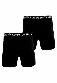 MUCHACHOMALO - 2 PACK - Boxerky - black - 1