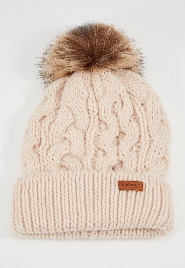 PENSHAW CABLE BEANIE - Bonnet - blush pink