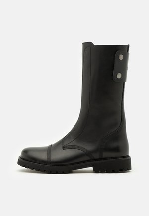 JOE HIGH - Platform boots - noir