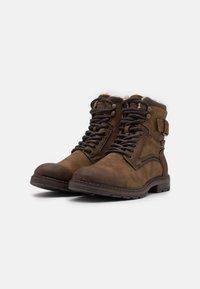 TOM TAILOR - Veterboots - brown - 1