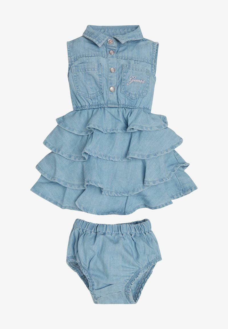 Guess - Denim dress - blau