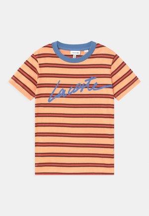 Print T-shirt - ledge/turquin blue/penumbra/crater