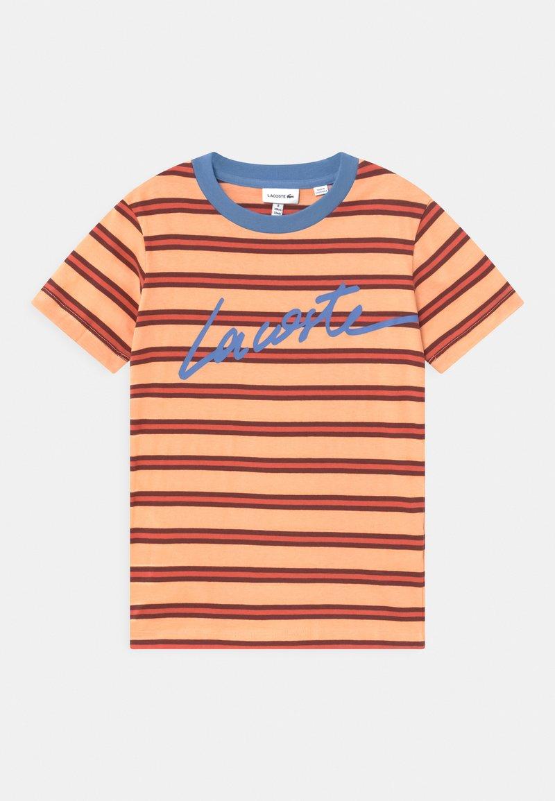Lacoste - Print T-shirt - ledge/turquin blue/penumbra/crater