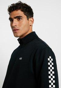 Vans - MN VERSA QZP - Sweatshirt - black - 4